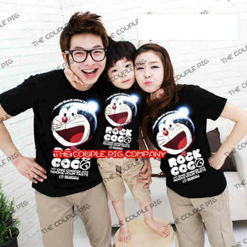 Jual Online FM Doraemon Murah Jakarta Bahan Combed Terbaru