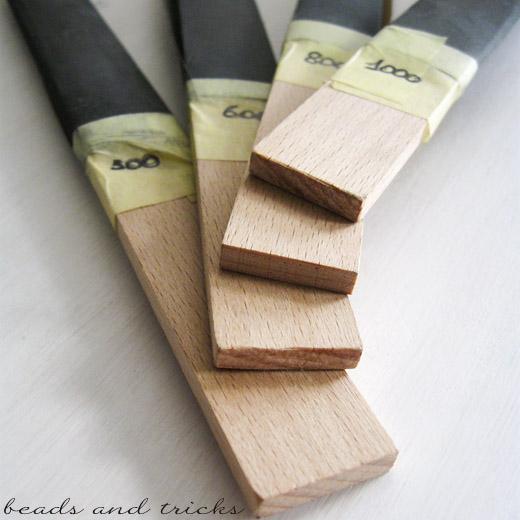 Attrezzi fai da te: sanding sticks cabroni smeriglio