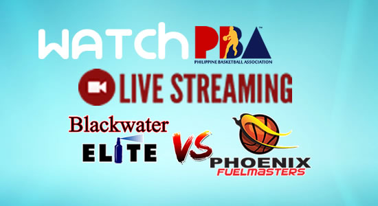 Livestream List: Blackwater vs Phoenix game live streaming February 21, 2018 PBA Philippine Cup