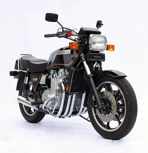 Kawasaki Z1300 Front look