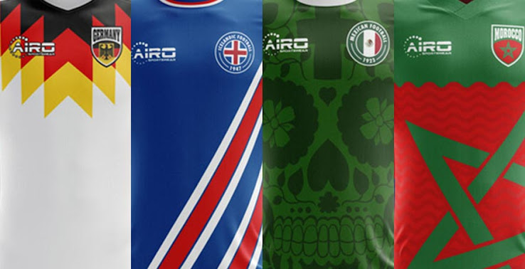9c78ff46d91 Available to Buy: 2018 World Cup Concept Kits by Airo Sportswear ...