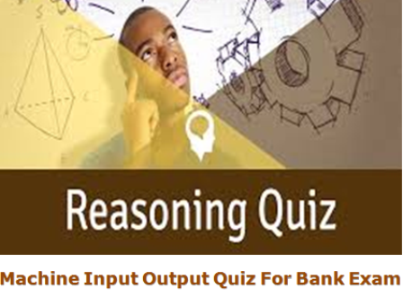 machine input output reasoning questions and answers pdf
