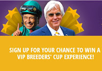 Image: Breeders' Cup - Racing With The Stars Sweepstakes