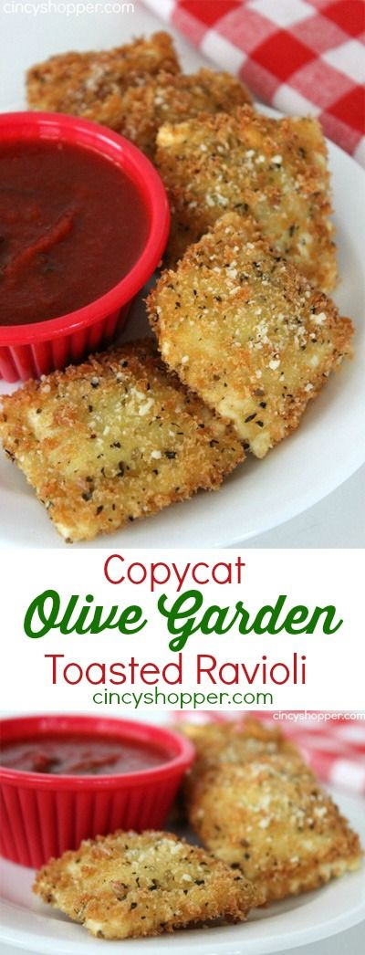 COPYCAT OLIVE GARDEN TOASTED RAVIOLI RECIPE #copycat #olive #garden #toasted #ravioli #delicious #deliciousrecipes #tasty #tastyrecipes Desserts, Healthy Food, Easy Recipes, Dinner, Lauch, Delicious, Easy, Holidays Recipe, Special Diet, World Cuisine, Cake, Grill, Appetizers, Healthy Recipes, Drinks, Cooking Method, Italian Recipes, Meat, Vegan Recipes, Cookies, Pasta Recipes, Fruit, Salad, Soup Appetizers, Non Alcoholic Drinks, Meal Planning, Vegetables, Soup, Pastry, Chocolate, Dairy, Alcoholic Drinks, Bulgur Salad, Baking, Snacks, Beef Recipes, Meat Appetizers, Mexican Recipes, Bread, Asian Recipes, Seafood Appetizers, Muffins, Breakfast And Brunch, Condiments, Cupcakes, Cheese, Chicken Recipes, Pie, Coffee, No Bake Desserts, Healthy Snacks, Seafood, Grain, Lunches Dinners, Mexican, Quick Bread, Liquor