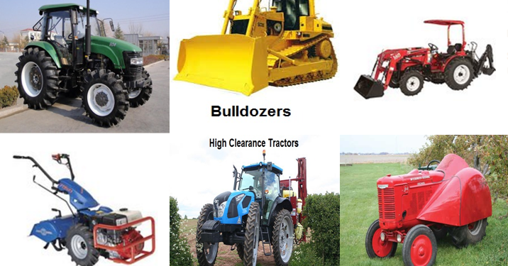 List of agricultural machinery farm equipment and for Garden implements list