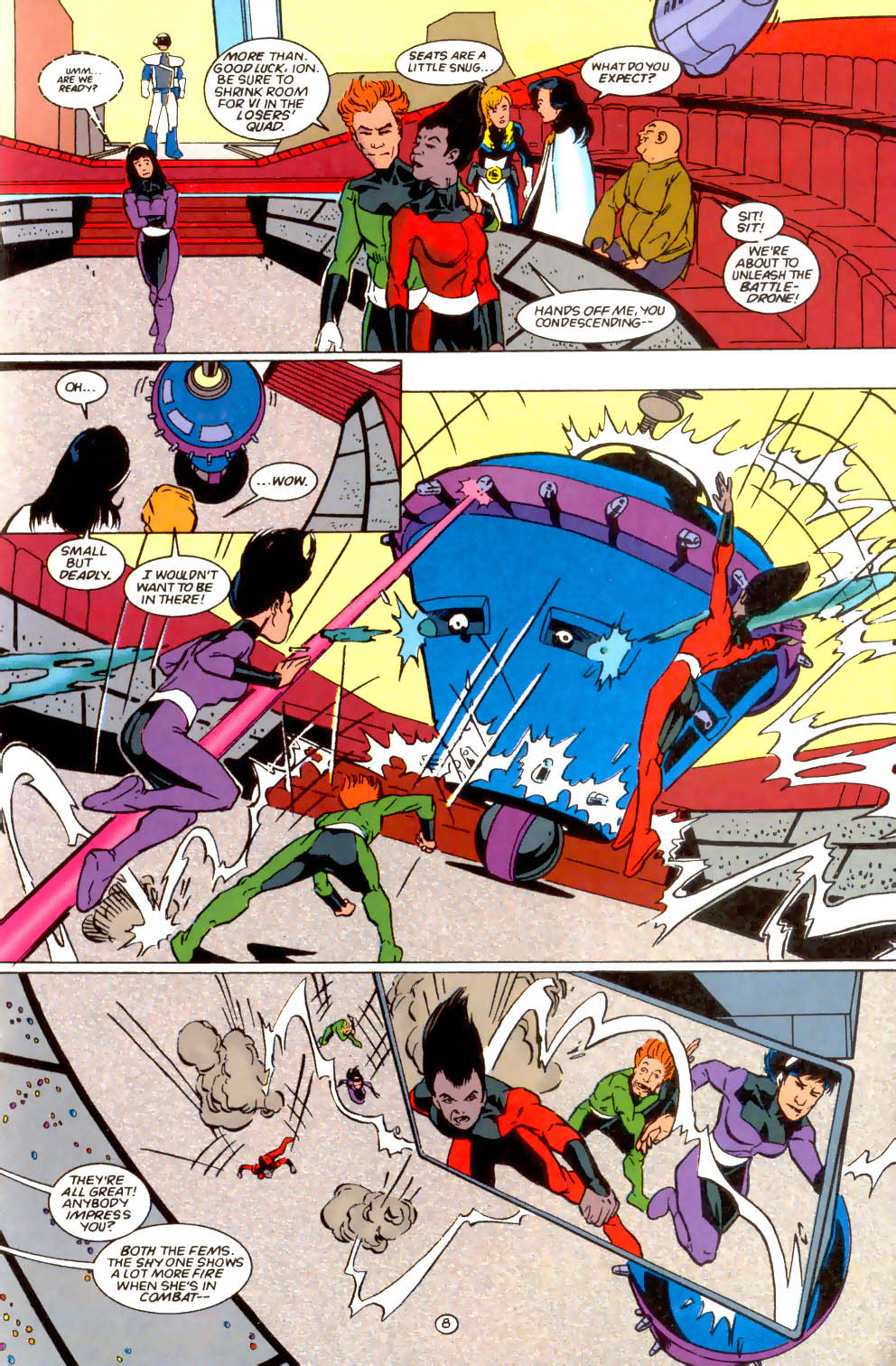 Legion of Super-Heroes (1989) 66 Page 8