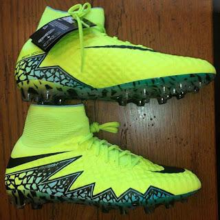 100% authentic 42476 35e76 Euro 2016 Billige Fodboldstøvler Nike Hypervenom Phantom II Euro 2016 Volt  Sort Hyper Turkis Clear Jade
