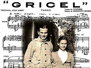 Partituras del tango Gricel
