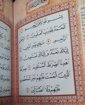 Hadiahkan Al Fatihah Kepada Diri Sendiri