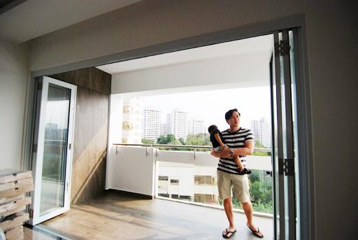 Butterpaperstudio reno bt panjang maisonette recent updates for Hdb balcony design