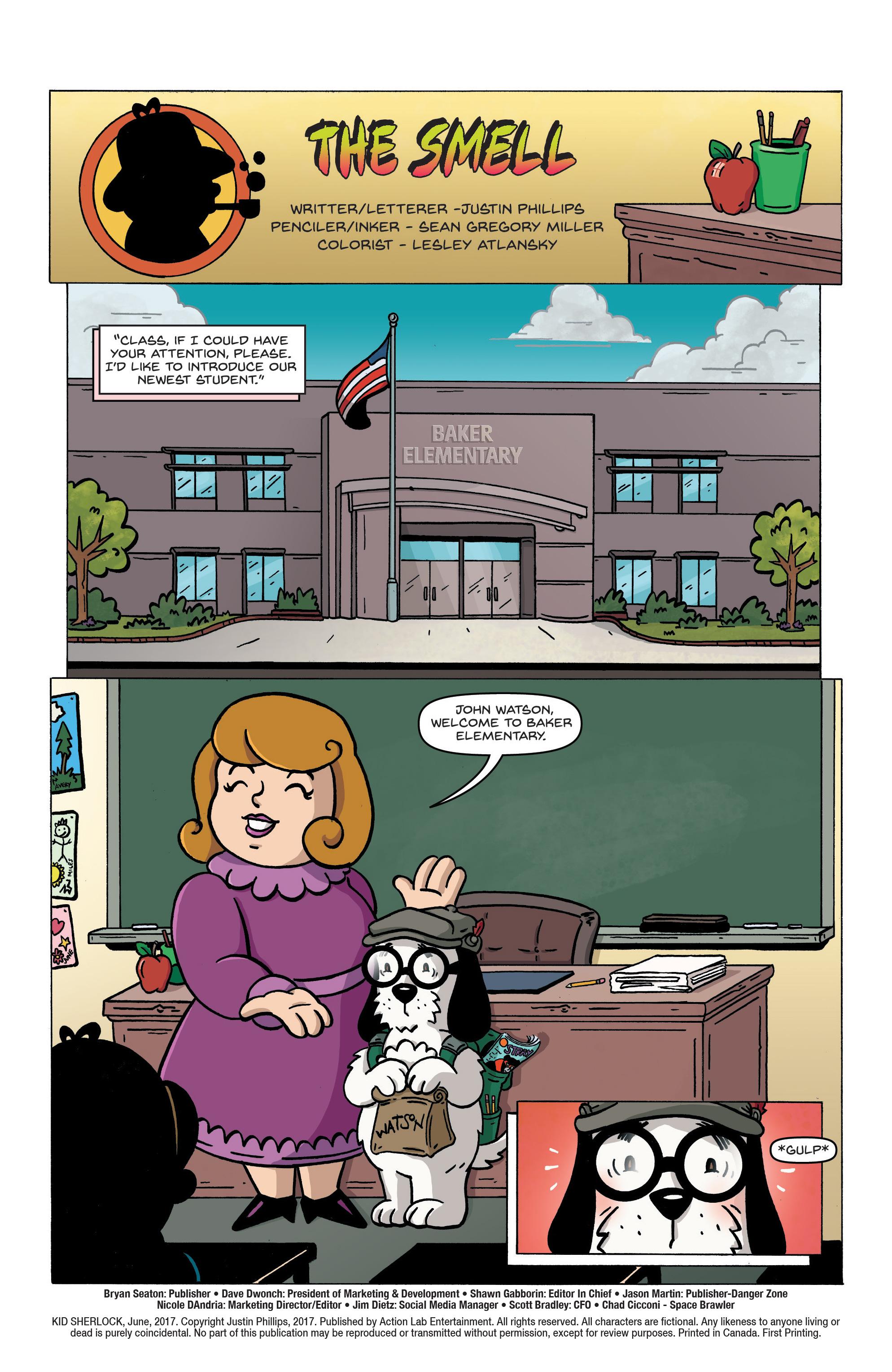 Read online Kid Sherlock comic -  Issue #1 - 4