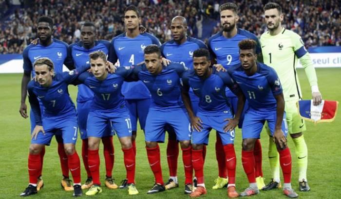Timnas Prancis di Piala Dunia 2018