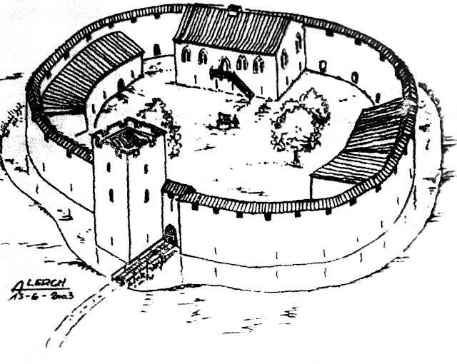 RECHICOURT-LE-CHATEAU (57) - Un château