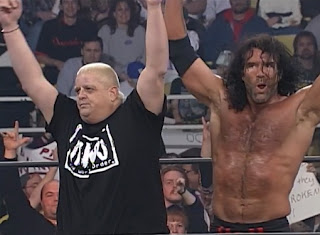 WCW Souled Out 1998 - Dusty Rhodes turned heel and joined the NWO