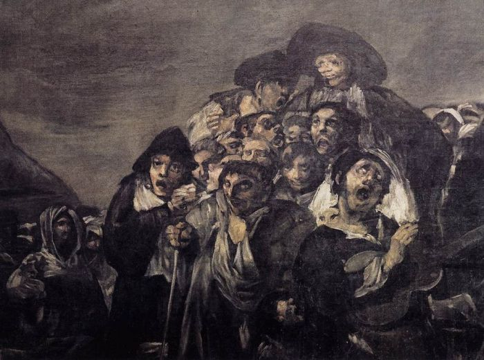 goya and daumier comparison Free essay: i have found the realism arts to be very fascinating the three pieces of art that i will be discussing are francisco goya's the third of may.