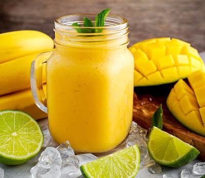 cooling mango lemonade