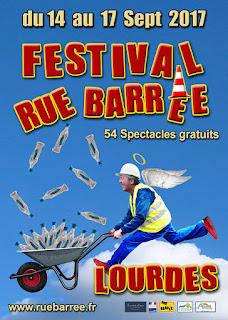 Lourdes : Festival Rue Barrée 2017