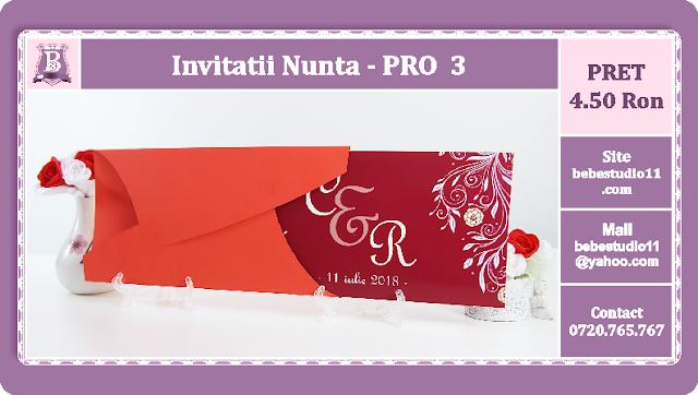 Invitatii Nunta PRO 3