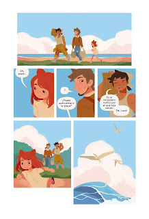 """Comic: Reseña de """"Bahía Acuicornio"""" de Katie O'Neil - Ediciones la Cúpula"""