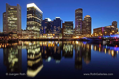 Boston Waterfront photography