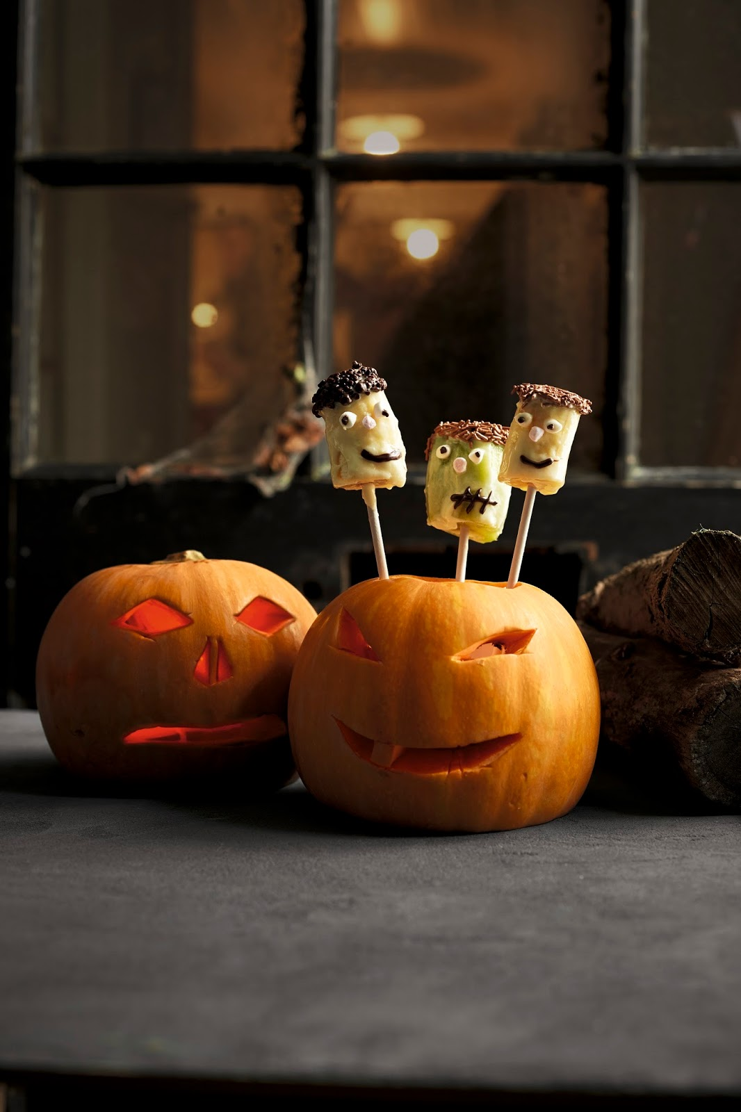 Fruity Monster Pops: Great For Halloween