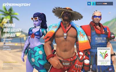 Regresan los juegos de verano de Overwatch con nuevos skins, emotes e intros