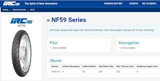 ban depan - IRC NF59 Series 70/90-14