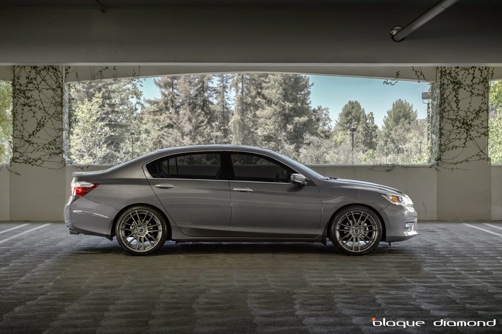 2014 Honda Accord Sport Fitted With 20 Inch Bd 4 Wheels