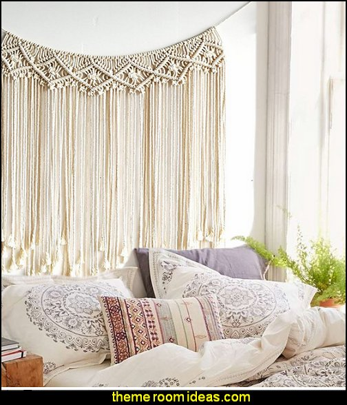 Macrame Wedding Backdrop Macrame Fringe Banner Home Décor