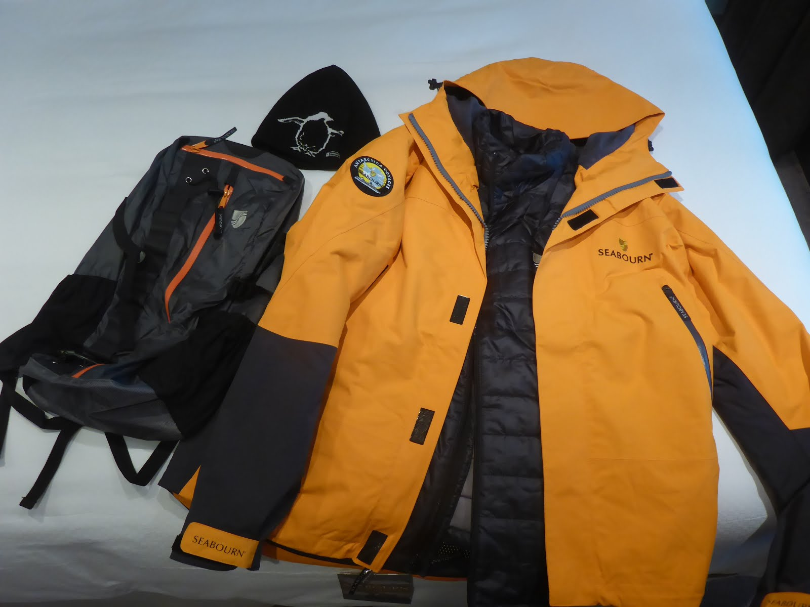 48c6d9ffefec Seabourn provides each guest traveling to Antarctica and Patagonia with a  high quality jacket