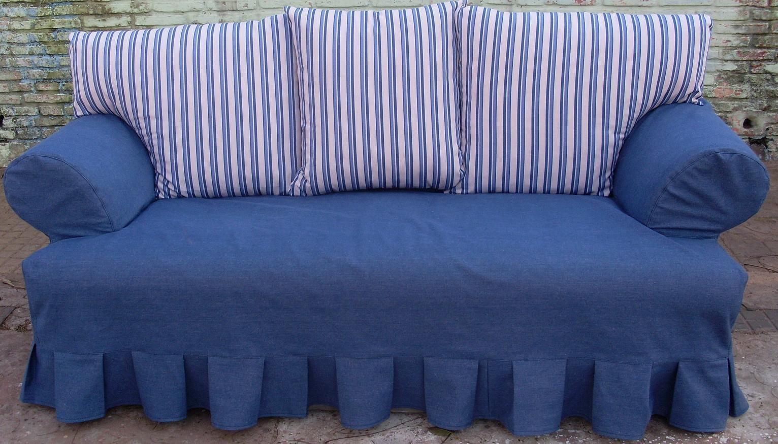 Como hacer los forros para tus muebles - Como hacer una funda para un sofa ...