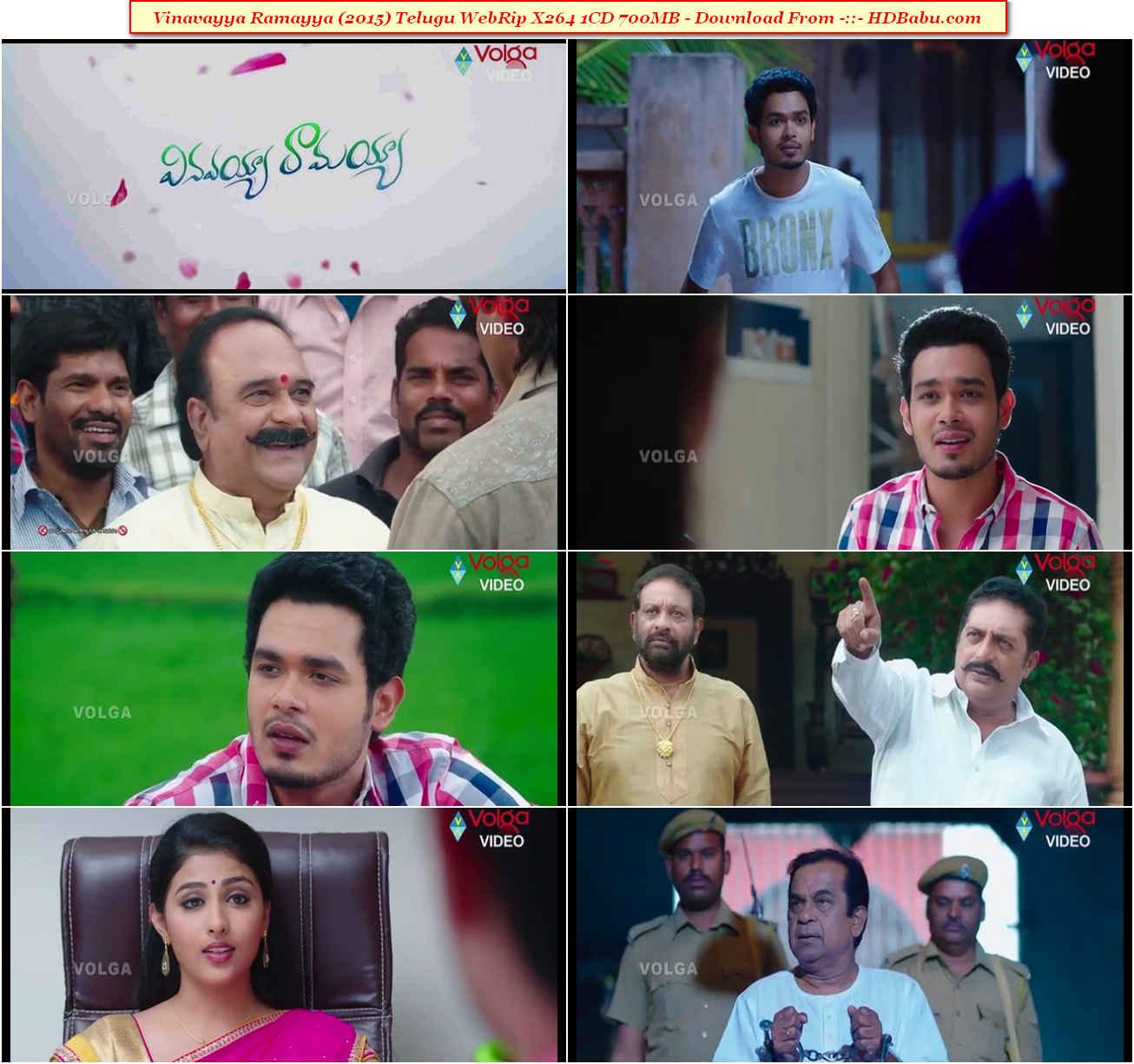 Vinavayya Ramayya HD Full Movie Download