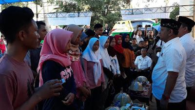 Massa Membludak, BARAKKA Kukuhkan Relawan LHW di Peneki