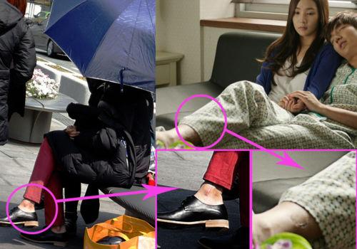 Lee Min Ho Car Accident