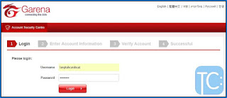 cara verifikasi email pb garena