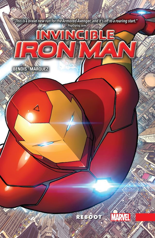 Every Day Is Like Wednesday: Review: Invincible Iron Man Vol