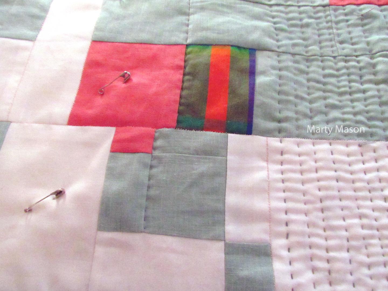 Martys Fiber Musings Slow Stitching