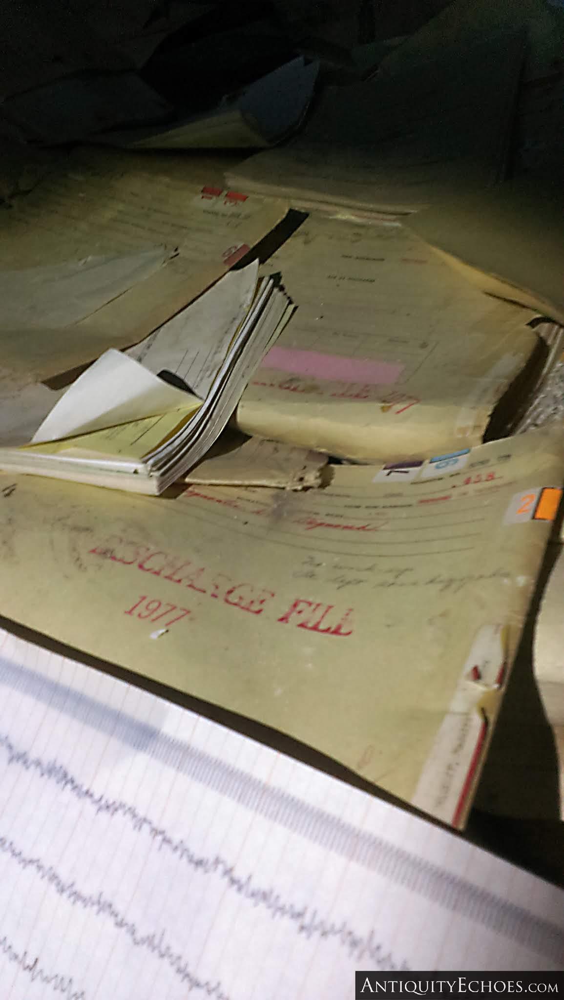 Overbrook Asylum - Paperwork Detail