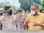 Kapolda Sulut Dampingi Gubernur Olly Tinjau Kesiapan RS Darurat Covid-19 di Bitung