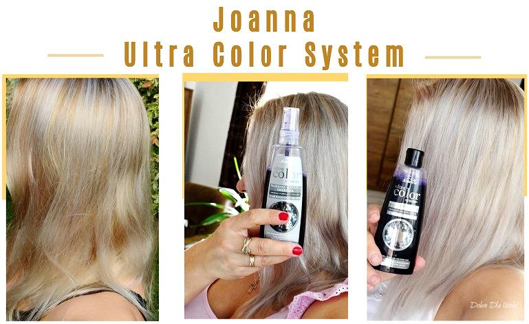 Joanna Ultra Color System - szampon, odżywka, płukanka i spray do włosów blond - recenzja