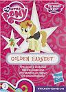 My Little Pony Wave 16 Golden Harvest Blind Bag Card
