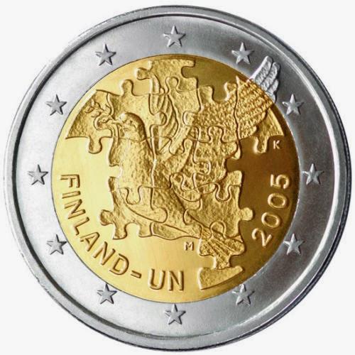 kolikko 2€ suomi 2005