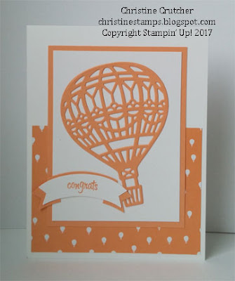 Stampin Up - Carried Away Designer Series Paper