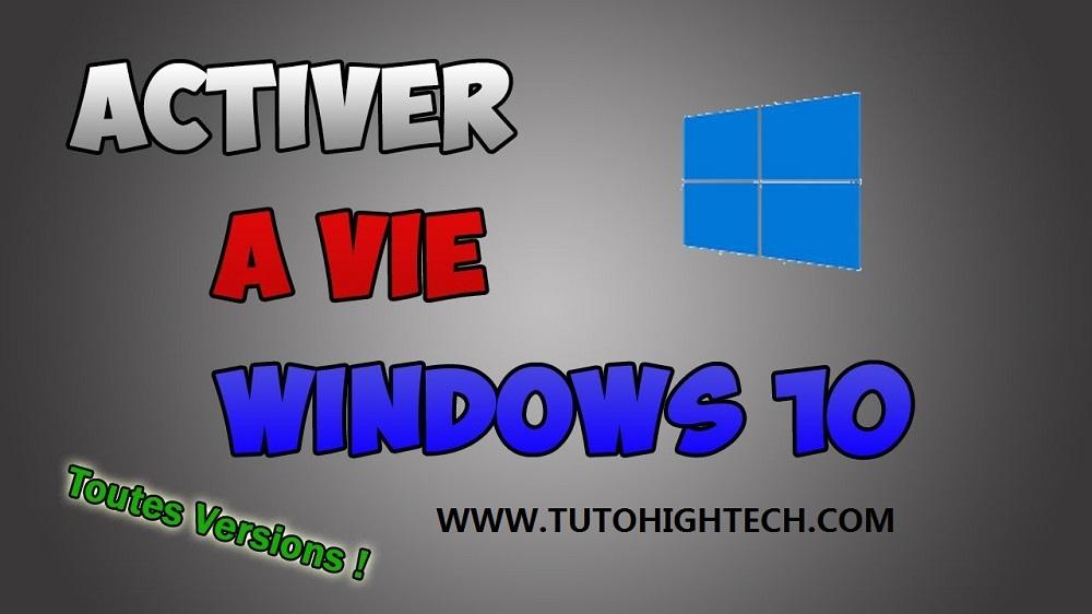 Clé d'activation Windows 10