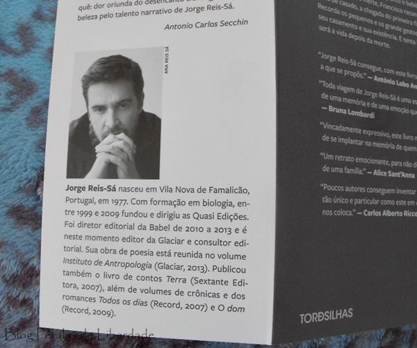 Resenha, livro, A-definição-do-amor, Jorge-Reis-Sá, Editora-Tordesilhas, escritor-portugues,