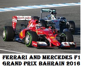 Ferrari overtake Mercedes in the third free practice of the Bahrain Grand Prix 2016
