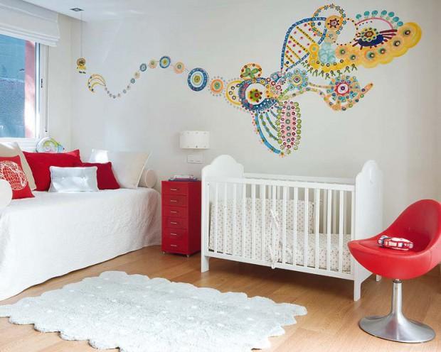 Decoracion Para Habitaciones De Bebe - Adornos-para-habitaciones-de-bebes