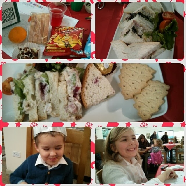 Food from our Tea with Santa