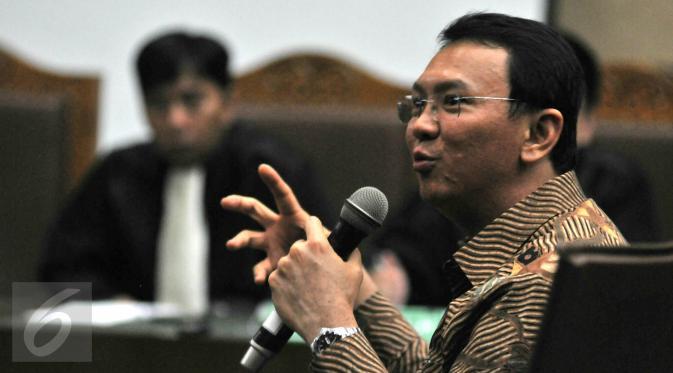 Komisi Yudisial Menyarankan Sidang Ahok Tidak Di Publikasi