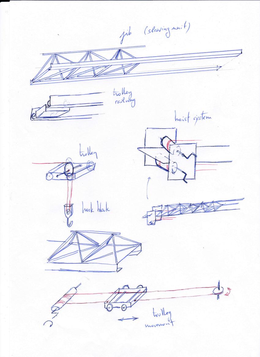 TechnoScience 2020: Tower crane